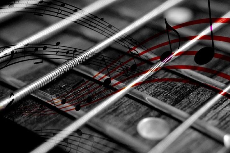 note chitarra
