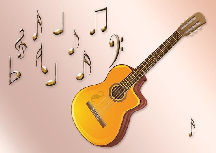pentagramma per chitarra