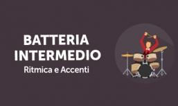 Batteria Intermedio: Ritmica e Accenti