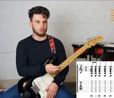 Quinta lezione corso di chitarra - la ritmica