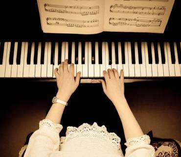 accompagnarsi con il pianoforte