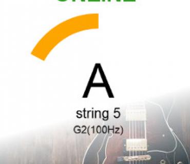 Accordatore online di chitarra
