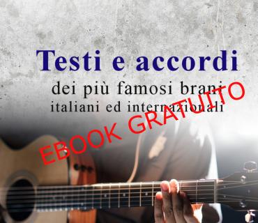 Ebook Raccolta testi e accordi chitarra