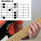 scala pentatonica chitarra