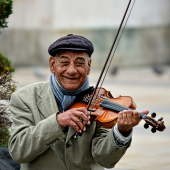 Lezioni di violino - 7. La scala di DO