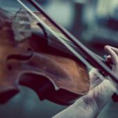 Lezioni di violino - 6. la scala di LA
