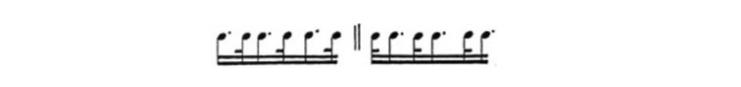 varianti ritmiche al pianoforte